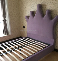 The children sleeping bed, kids crown bed for living room or bedroom furniture