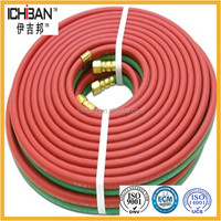 "100Ft 1/4"" Oxygen Acetylene Hose/Gas Cutting Torch Hose/Rubber Hoses"
