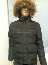2015 Windproof Hooded Casual Russian Winter Coat with Zipper