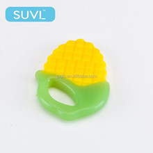 ring down eco friendly baby products pineapple soft safe silicone teether