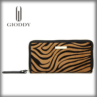 New design Hot promotional fashion leather purse for ladies
