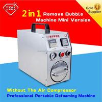 2 in 1 machine,mini OCA Vacuum laminator + bubble remover for broken phone repair,air bubble film machine manufacturers
