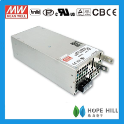 MEAN WELL 1500W Single Output Power Supply SPV-1500-24