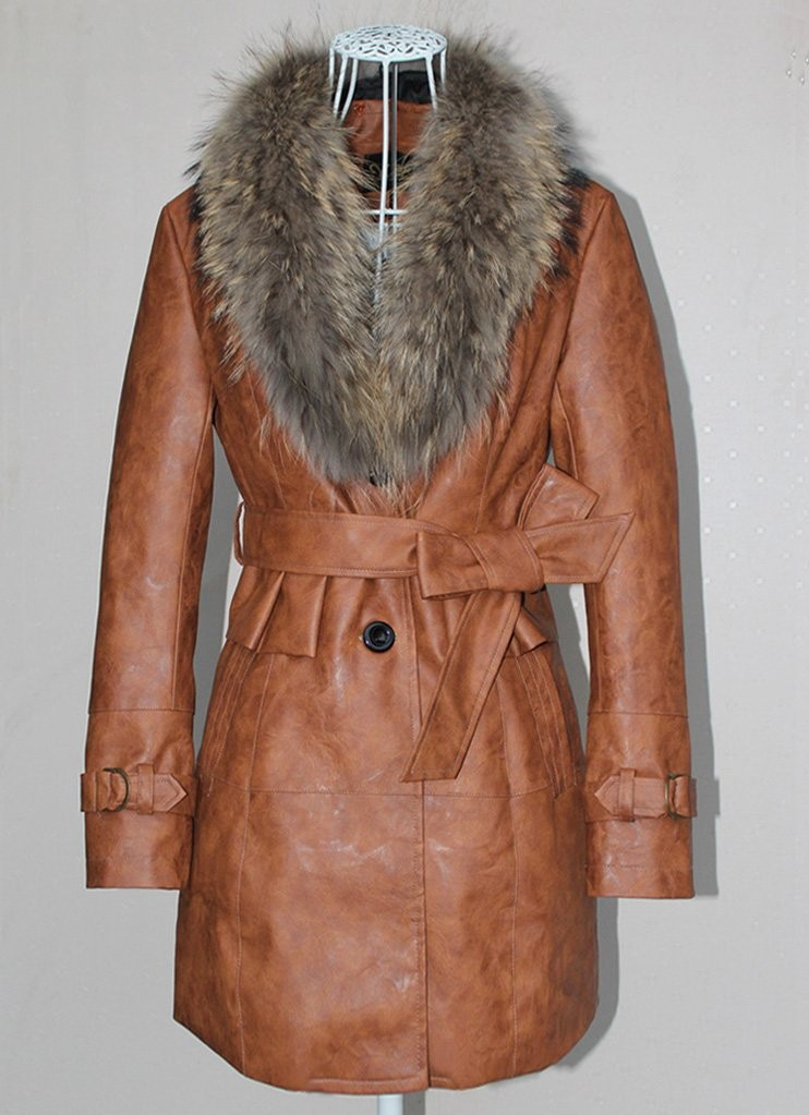 Женская одежда из кожи и замши  219