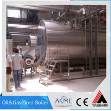 Oil / Gas Steam Boiler 20ton/hr for city central heating industry
