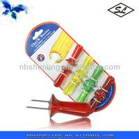bbq corn cob holders with plastic handle