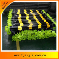black and yellow ABS Plastic retractable cone bar