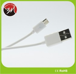 Wholesale OEM Colorful 1.2m 4ft Round Micro USB Cable Mobile Data Line for Smart phone