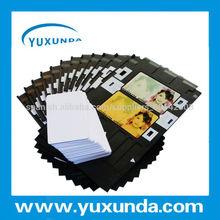 De fábrica- precio en blanco de la tarjeta de negocios/la tarjeta del pvc