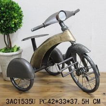 Most popular new products tricycle handmade new year home decoration