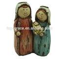 de dibujos animados de navidad de la sagrada familia
