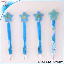 gift shining star cap pen