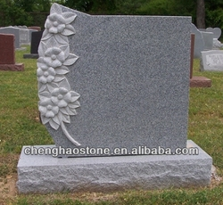 Single With Sunflowers Monument Prices/ Granite Tombstone