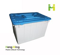 Custom plastic storage box for clothes