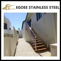 304 316 Stair Casings stainless steel rod railing/stair balustrade for sale