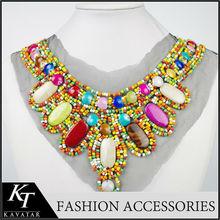 Special design high-grade material neck design of ladies suits