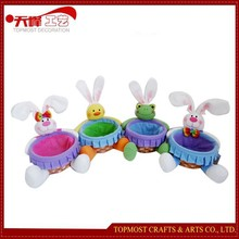 Easter baskets Cute Animal Toys Chicken Frog Bunnies
