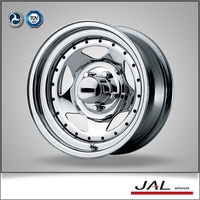 new product for 2015 China wholesale 15 inch 15x6 chrome wheels for 4x4