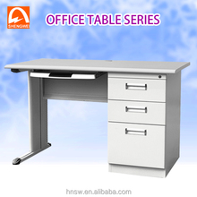 Office use white high gloss computer desk for wholesales