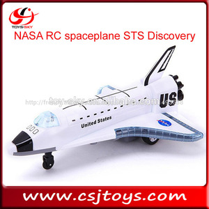 Music Flashing Unite States NASA RC spaceplane STS Discovery OV-102 rc airliner space shuttle toy airplane model