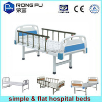 selling flat & simple hospital beds make in China