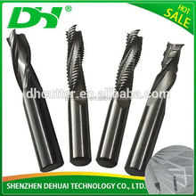High precision and durable 6 flute finishing end mill