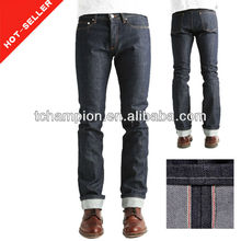 ( #tg499m) 2013 nova cura japonês calças jeans fábrica rise mid jean