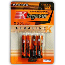 aaa dry battery high quality Alkaline Battery aaa /LR03 1.5V