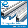 integrative aluminum and PC Cover for JL-A-80 led tube housing