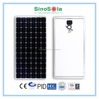 Sinosola 320w solar panel made of high efficiency monocrystalline solar cells