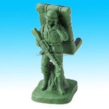 hand paintable green Resin clay craft for decoration