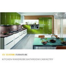 modern kitchen door colored glass kitchen cabinet doors china furniture ready to assemble kitchen cabinets kitchen renovation