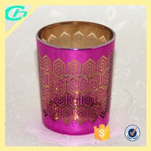 deco grass for garden decoration, glass candle holder for home decorations