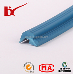 various color heat resistance flexible extrude silicone seal