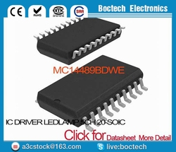 MC14489BDWE IC DRIVER LED/LAMP 5CH 20-SOIC MC14489BDWE 14489 MC14489 MC14489B MC14489BD 14489B