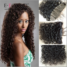 Cheap Brazilian Lace Frontal Closure Ear To Ear Full Lace Frontal Closure 13x4 Curly Human Hair Lace Frontals With Baby Hair