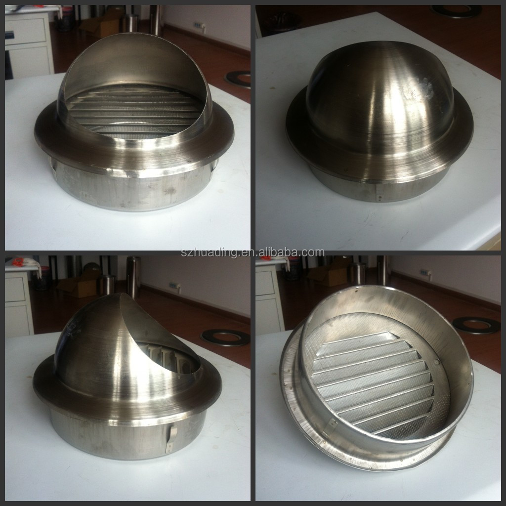 CE Stainless Steel Chimney Rain Cap Gas Fireplace Chimney