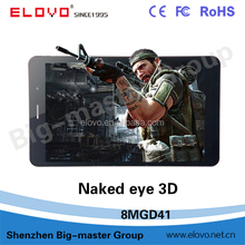 1280*800 GPS Wifi 2.0MP+5.0MP cheapest 3d tablet pc made in china