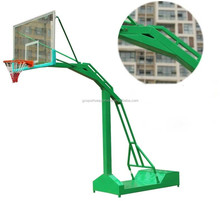 Outdoor movable basketball stand for school