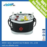2015 China hot selling heat seal PVC ice cooler bag for wine