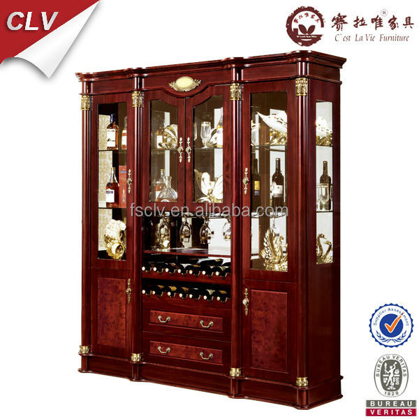 Glass cabinet vintage living room showcase design wood buy living room showcase design living - Glass showcase designs for living room ...