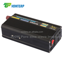 2015 new,hot sale 12 24V 300w DC to AC pure sine wave inverter
