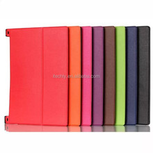 Two Folio Ultra Thin Slim Leather Cover Flip Case for Lenovo Yoga Tab 2 10'' 1050