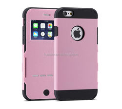 flip case for iphone, mobile phone case factory top quality