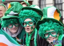 St. Patrick's Day 100th old factory hair different types of hair