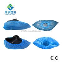 disposable PE LDPE CPE plastic rain waterproof outdoor overshoes