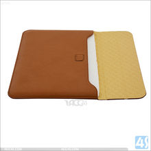 For Macbook Air Leather Sleeve With Premium PU Leather, Cheap Price Leather Sleeve for Macbook Air 12""