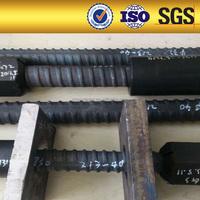 15-75mm high yield steel anchor bars High Strength Mining Thread Bar Bolt
