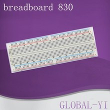 alibaba express Hot new products for 2015 MB-102 breadboard 830 Points solderless breadboard from wholesale school supplies