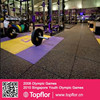 Recycled Rubber with EPDM Gym Mats Flooring for Sale